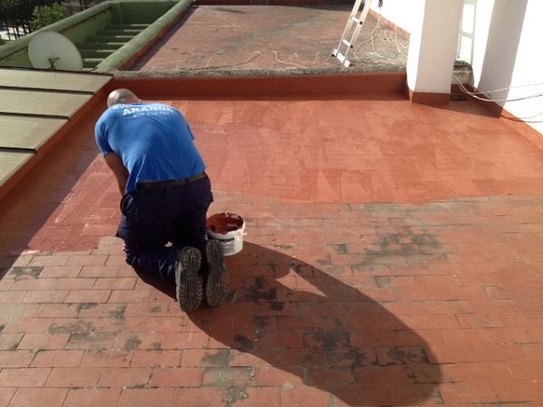Impermeabilzación de fachadas y tejados