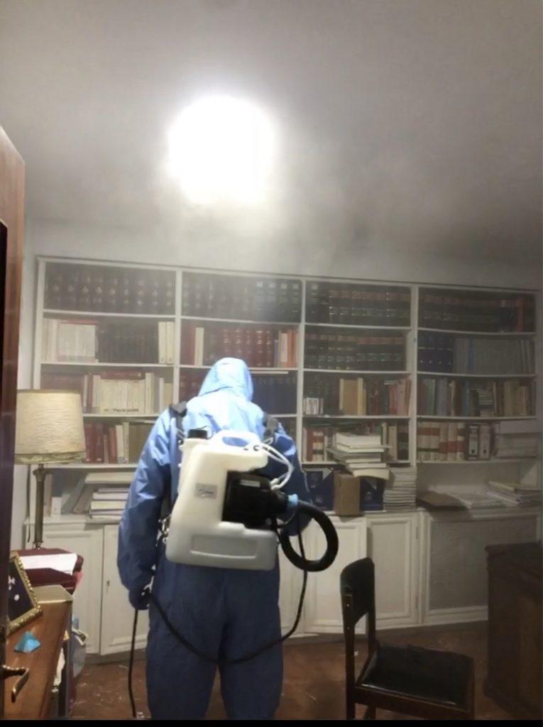 Desinfecciones e higienización de todo tipo de superficies